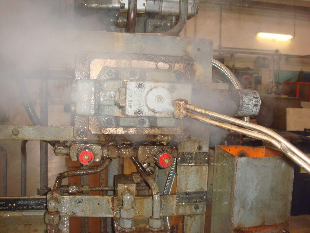 dégraissage vapeur mécanique